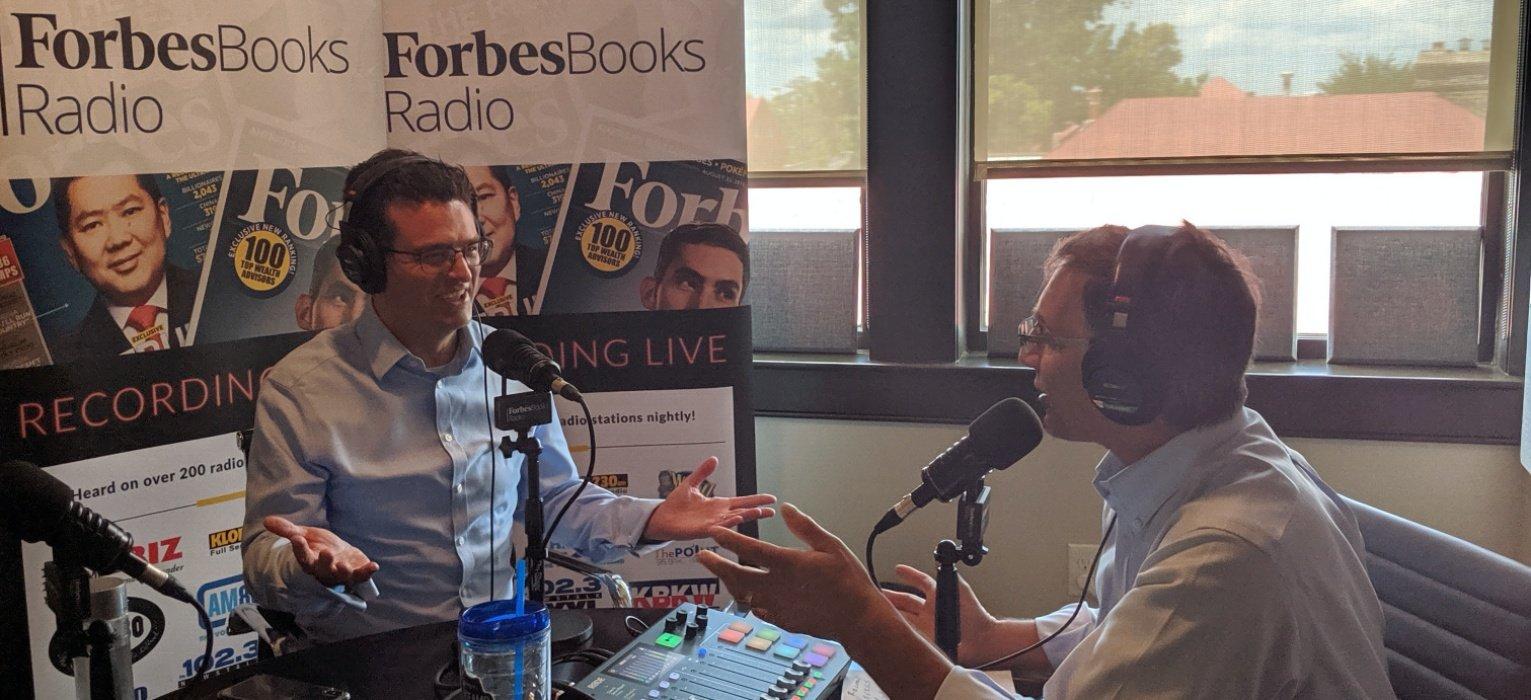 Erich Michrowski ForbesBooks Radio recording episode
