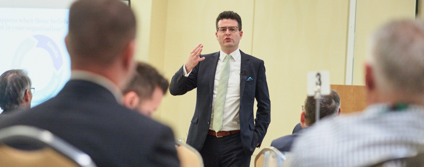 Eric Michrowski conference speaking